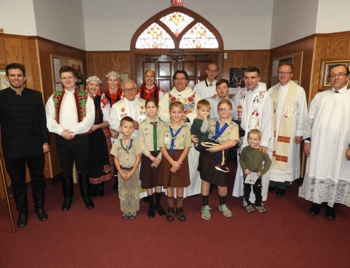 Hungarian scouts partake in St. Emeric feast day festivities