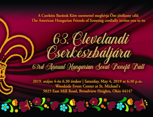 63rd Hungarian Scout Ball