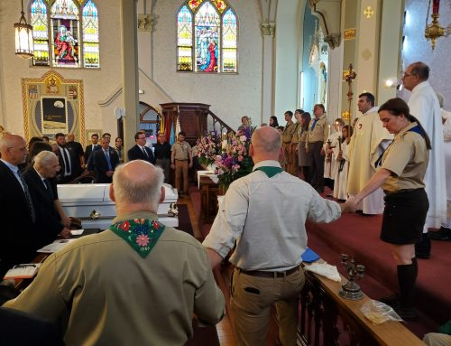Memorial Mass for Scout Leader Elizabeth Madzsar, 1935-2019