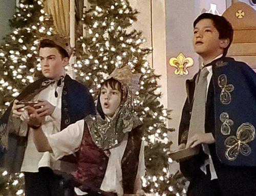 Clevelandi magyar cserkészek ünnepelték Jézus születését